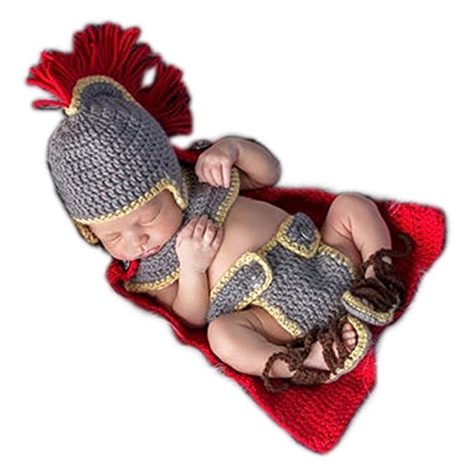 Vemonllas Hand Stricken Neugeboren Junge Mädchen Outfits Baby