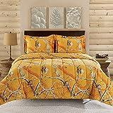 Realtree 2 Piece Comforter Set, Twin, Bright Orange