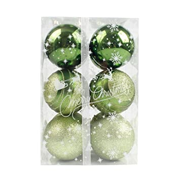 hot sale clearancetodaies 12pcs christmas tree xmas balls decorations baubles party wedding ornament