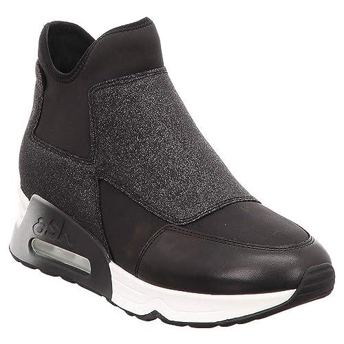 Scarpe Borse Black Lazer Boot Schwarz Glit Ash Amazon E it Stiefelette xw8SXvnn1q