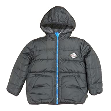 0874fc138fd3 Amazon.com  Performance Gear Boys Black Insulated Puffer Jacket ...