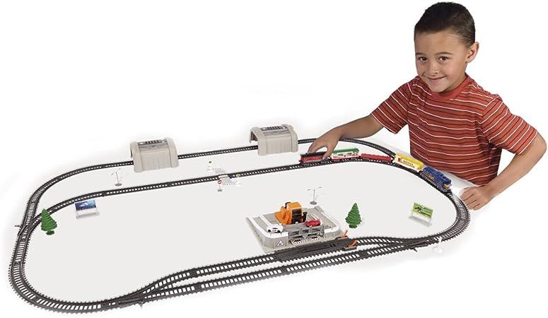 Power Trains - Set Grande. Tren de mercancías (Famosa 700009941): Amazon.es: Juguetes y juegos