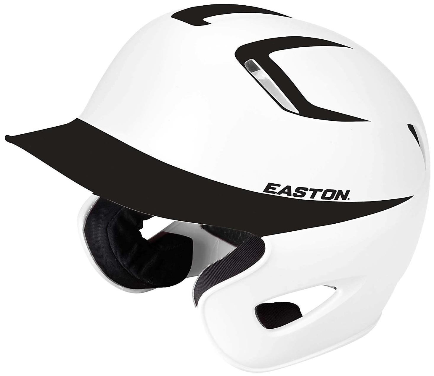 Amazon.com : Easton Stealth Grip Two-Tone Batting Helmet, Navy/White, Small : Baseball Batting Helmets : Sports & Outdoors