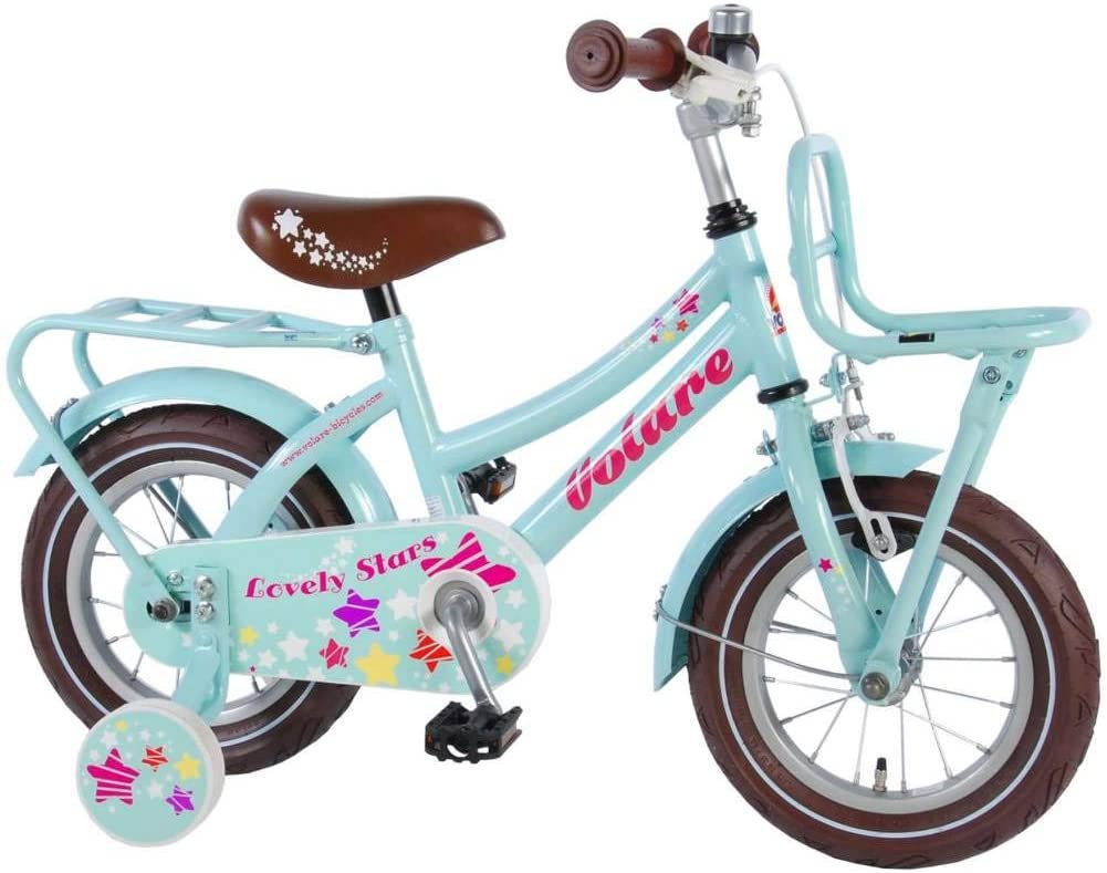lovely stars Bicicleta Niña 12 Pulgadas Freno Delantero al ...