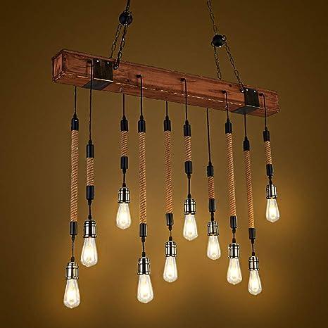 Lámpara Colgante Retro Industrial Lámparas de Araña Metal ...