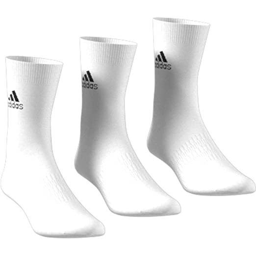 adidas Light Crew 3pp Socks, Unisex Adulto
