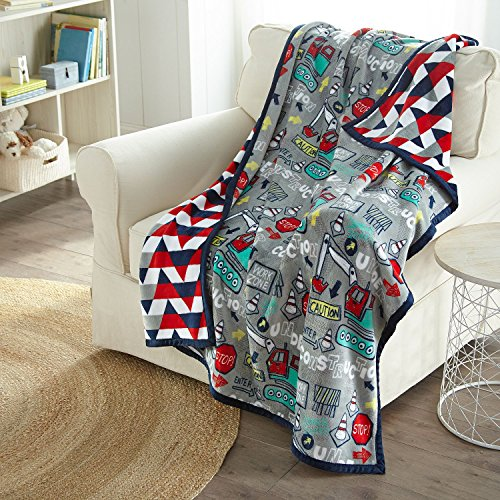 American Kids Reversible Throw 50