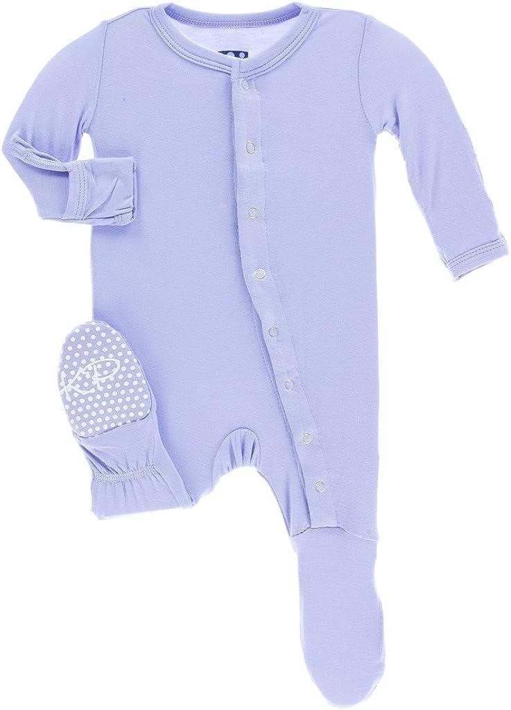 Kickee Pants Baby Girls Basic Coverall Lilac