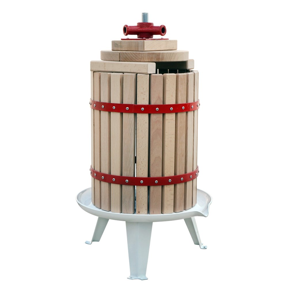 FISTERS 18L Wood Fruit Wine Press Cider Apple Grape Crusher Juice Maker Tool by FISTERS (Image #4)