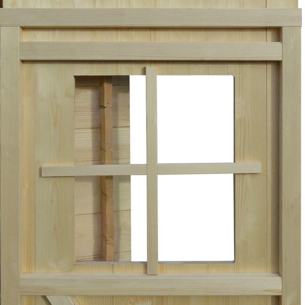 Amazon De Vidaxl Gartenhaus Holz 2x2 1m 19mm Holzhaus Geratehaus