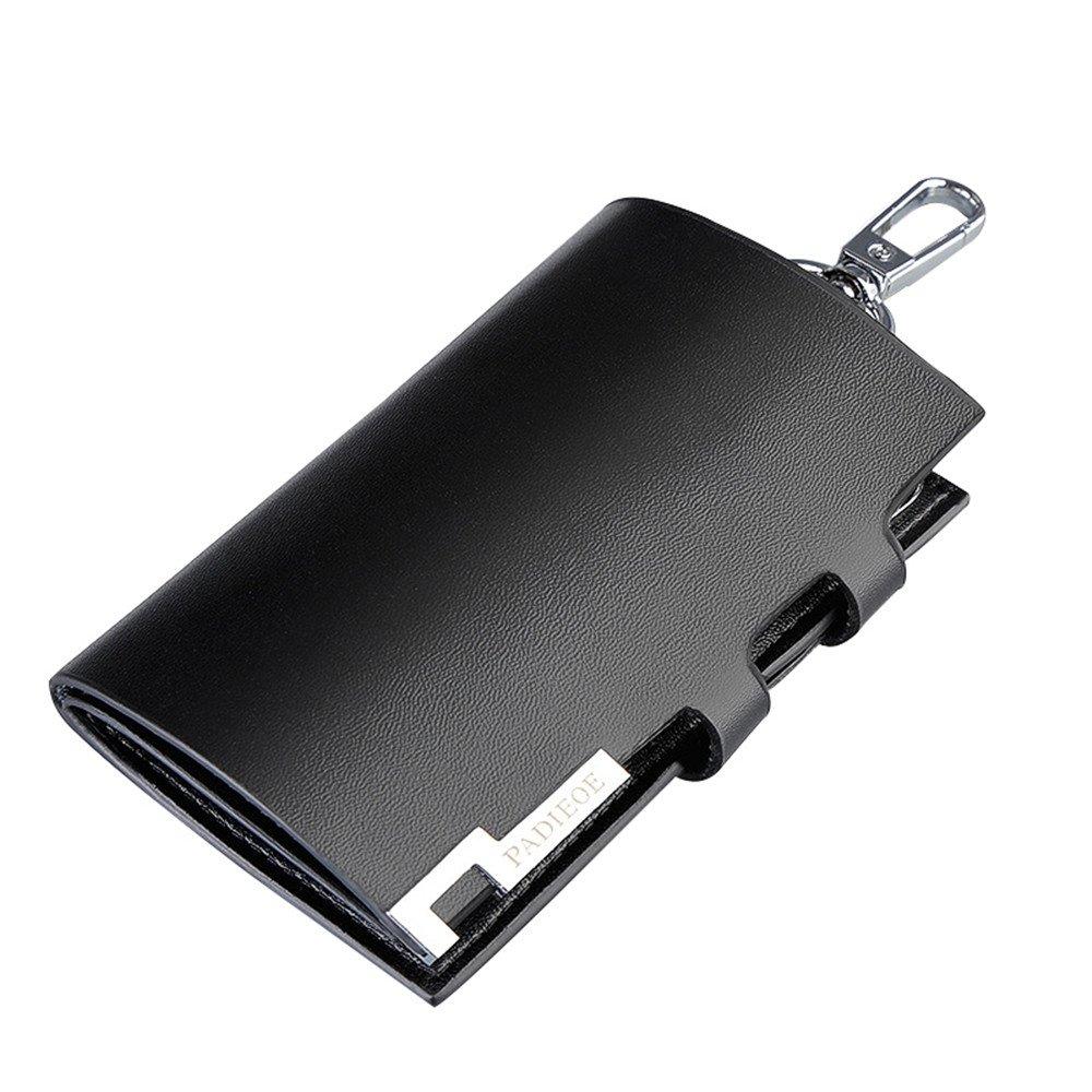 PADIEOE Leather Key Case Wallet