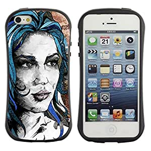 High quality Case for Apple iPhone 4s 4s Beautiful Girl Painting