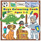 Boys Colouring Book: Ages 3-5