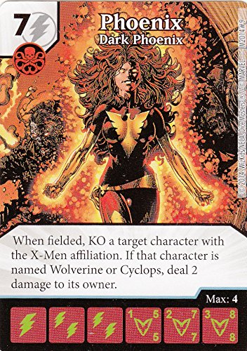Marvel Dice Masters The Dark Phoenix Saga Month One Op Kit Phoenix