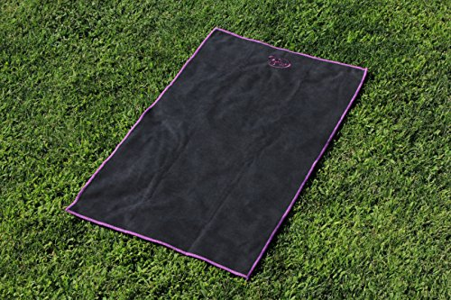 G3Elite Yoga Set, Combo Starter Kit Includes Yoga Mat, Bag, Sling Strap, Plus Hand Towel (Purple Mix)