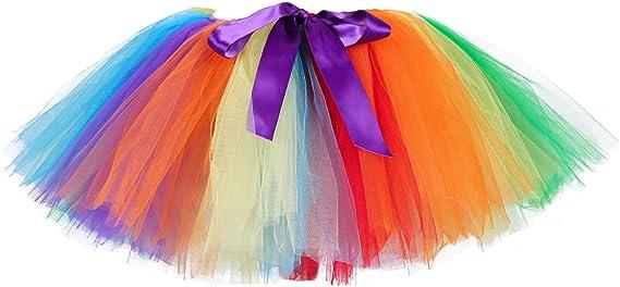 Tutu Dream Classic - Mini faldas de tutú de tutú para mujer con ...