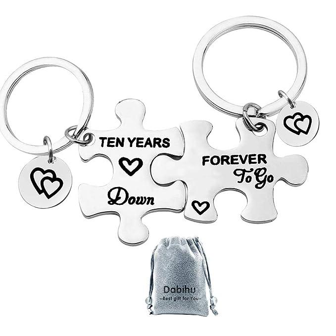 Amazon.com: Diez años abajo para ir parejas rompecabezas ...
