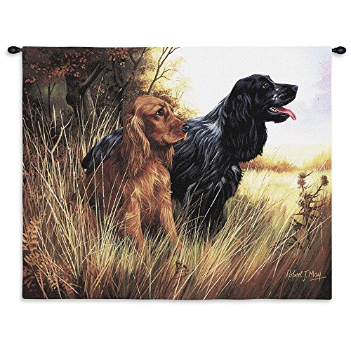 Pure Country Cocker Spaniel Wall (Cocker Spaniel Tapestry Throw)