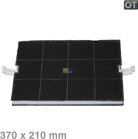 Filtro de carbono 370x210mm DHZ5160 Campana extractora Bosch Siemens 00351210 351210: Amazon.es: Hogar