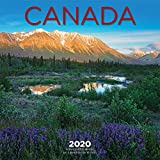 Canada 2020 12 x 12 Inch Monthly Square Wall Calendar, Canadian Regional Travel Canada