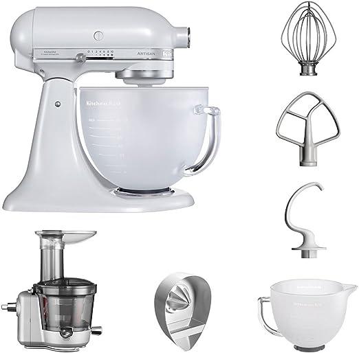 KitchenAid Robot de cocina fop Conjunto   Artisan 5 ksm156efp ...