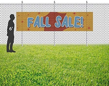 9x6 CGSignLab Victorian Card Wind-Resistant Outdoor Mesh Vinyl Banner Annual Sale
