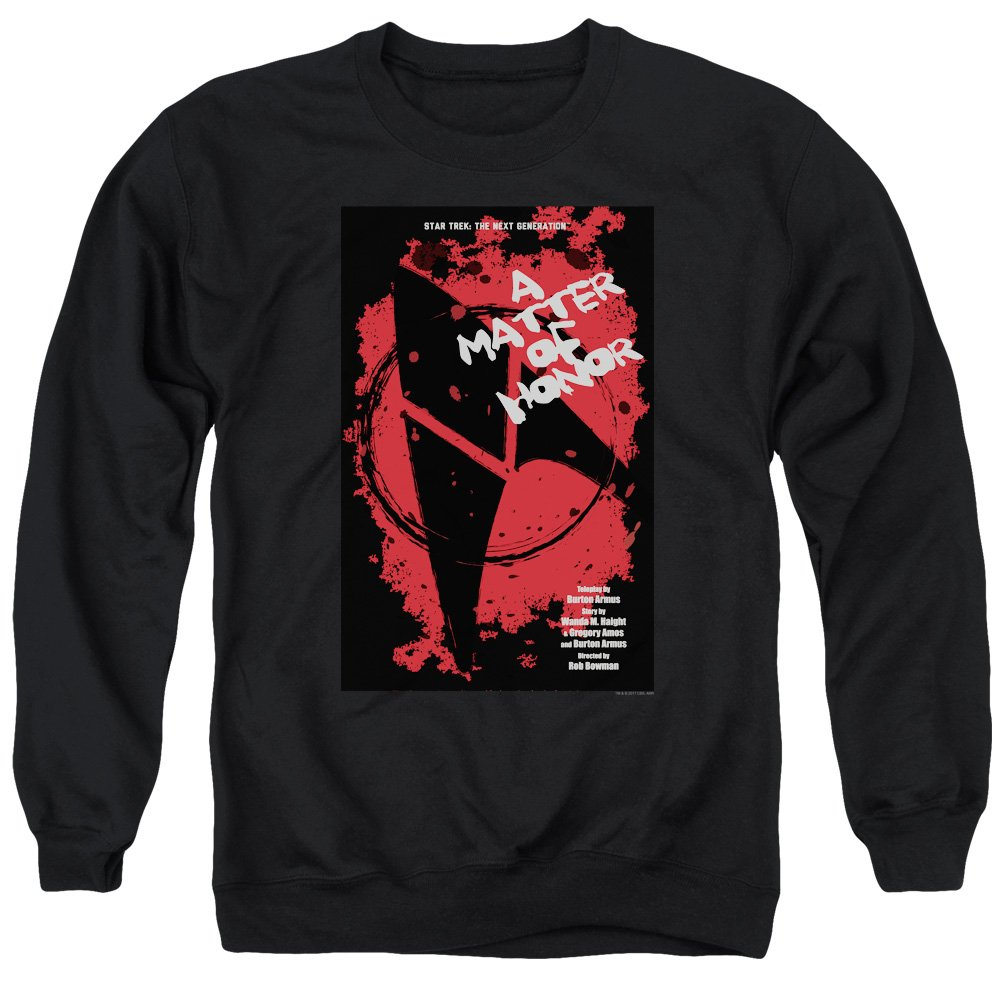 Star Trek - - Men& 039;s TNG Season 2 Episode 8 Sweater