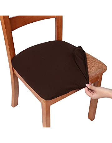 Efficient Stretchy Dining Chair Cover Short Chair Covers Washable Protector Seat Slipcover For Wedding Party Restaurant Banquet Home Dec In Pain Chair Cover Table & Sofa Linens
