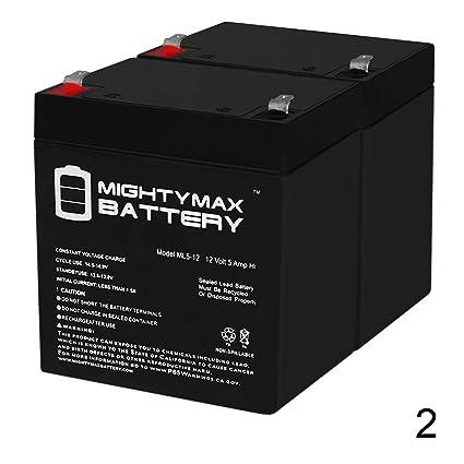 Amazon.com: 12 V 5 Ah Batería para Razor E100 E125 E150 E175 ...