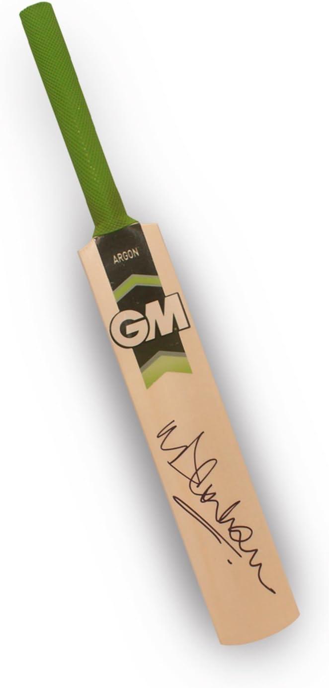 Michael Vaughan Firmado Gunn y Moore Mini Cricket Bat: Amazon.es: Deportes y aire libre