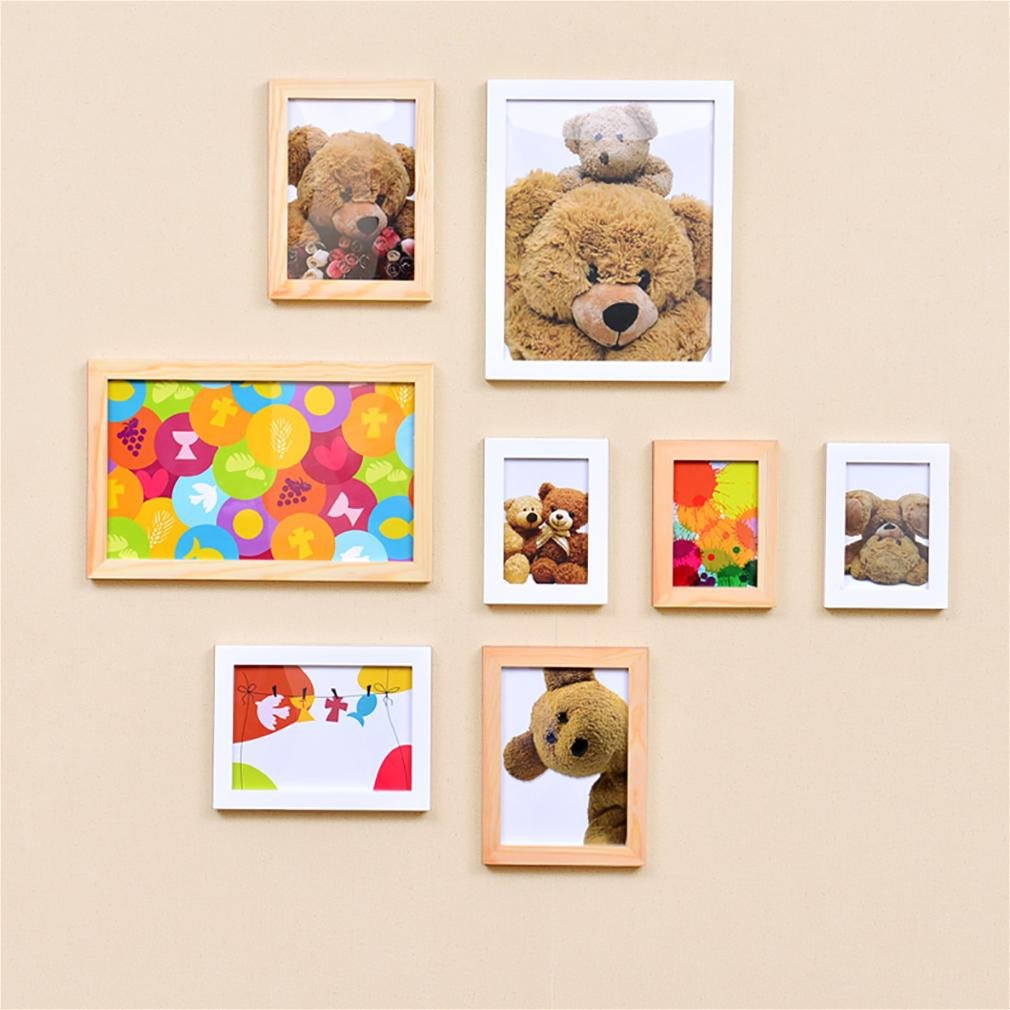 WillST Multi Picture Photo Frame European Style Creative Home Decoration 8pcs , a by Unknown (Image #1)