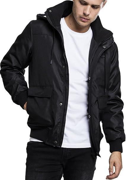 Hooded Jacket Urban Classics Streetwear Giacca Heavy PmOwyN08nv