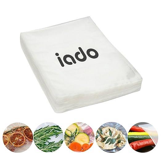 Bolsas de sellador de alimentos al vacío, 20 x 30 cm, 50 ...