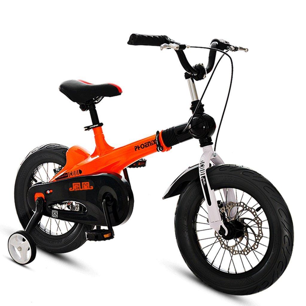 子供の自転車ガールズ自転車2-12歳のベビーベビーカー14/16インチキッズマウンテンバイク (色 : A, サイズ さいず : 16 inches) B07D4F7KJ8 16 inches A A 16 inches