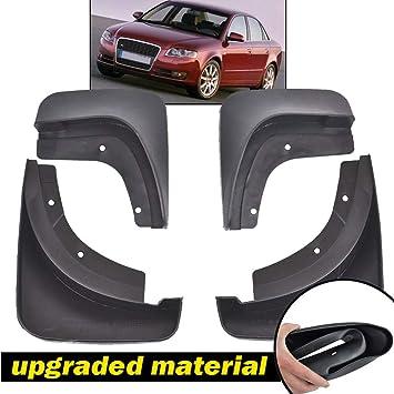 MOERTIFEI Car Mudguard Fender Mud Flaps Splash Guard Kit fit for Audi A4 Sedan 2009-2015