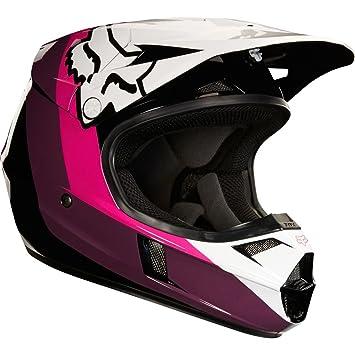 19546-285-S - Fox Racing Youth V1 Halyn Motocross Helmet S Black Pink
