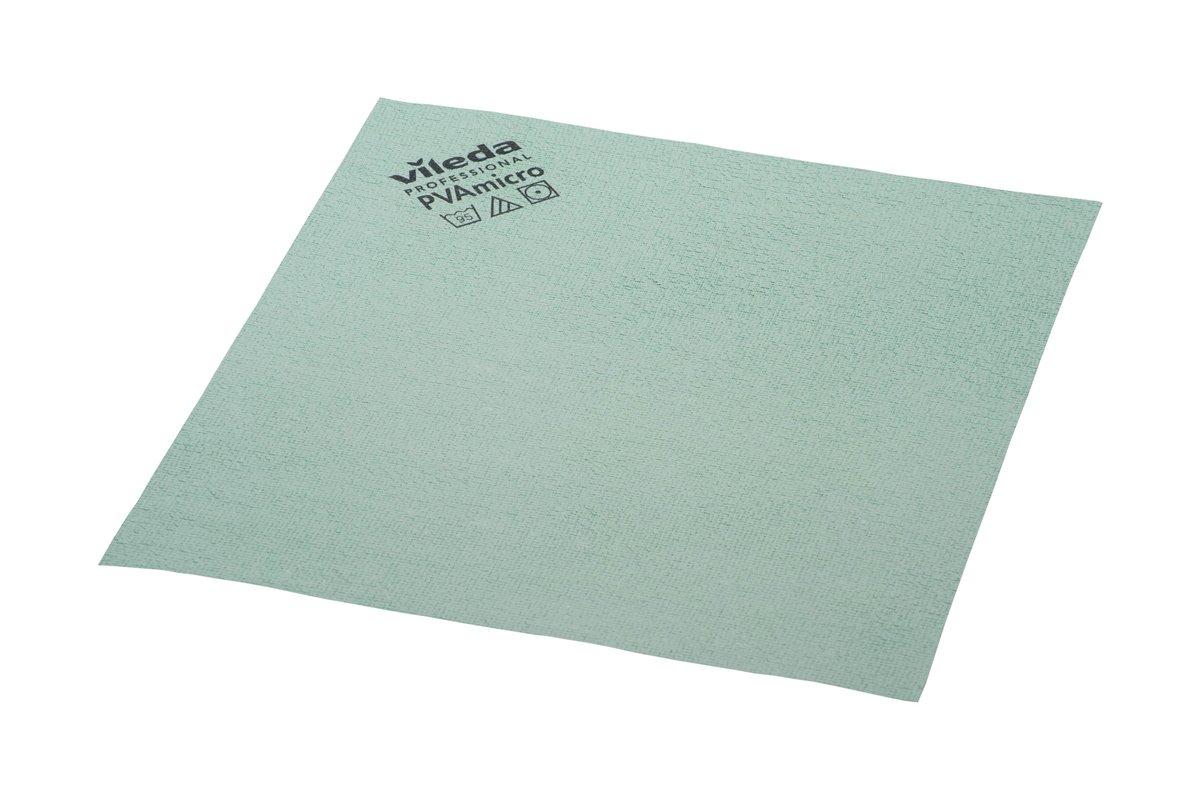 Vileda Professional PVA Microfiber Cloth Green (pack of 5)
