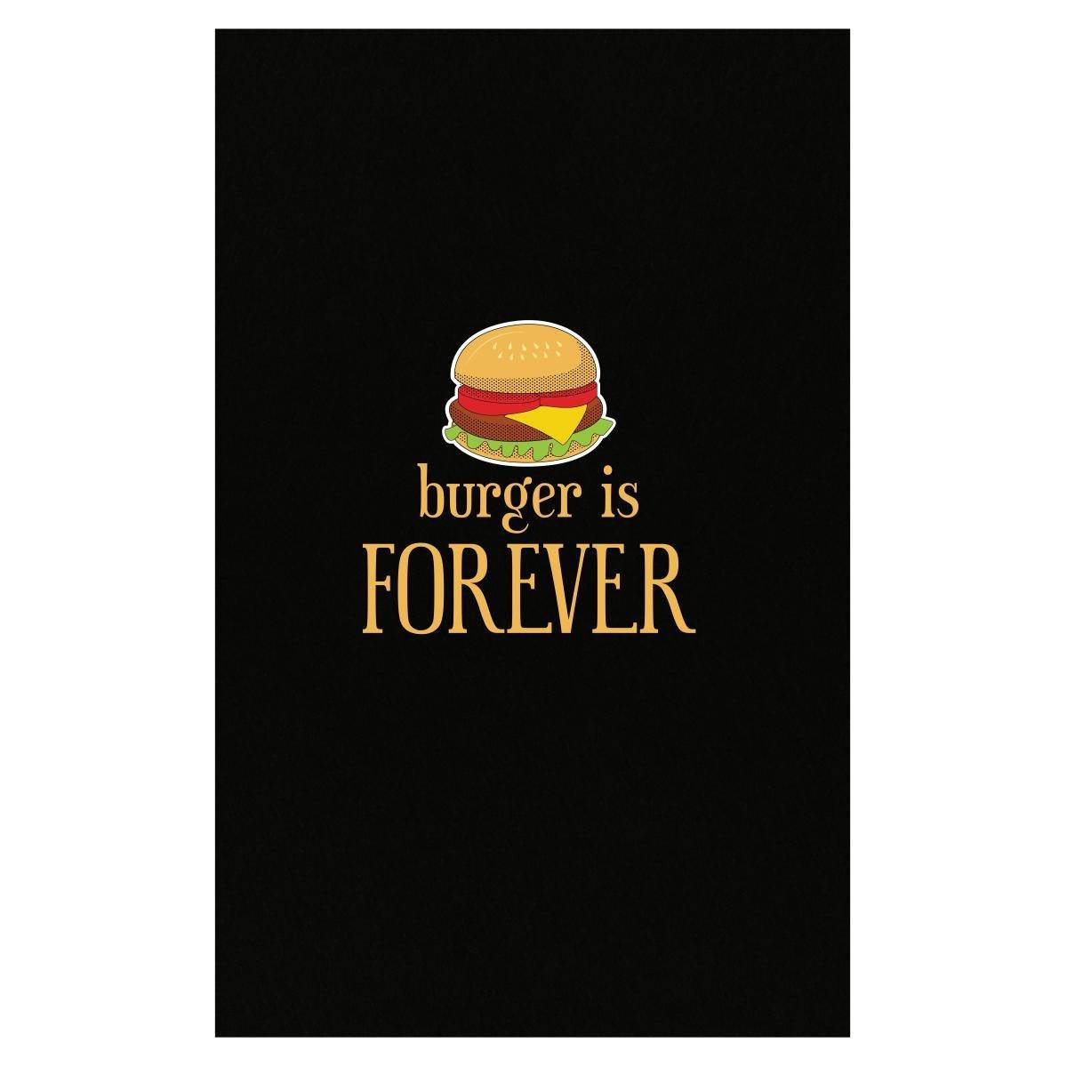 Amazon.com: Hamburguesa es Forever comida chatarra Love ...