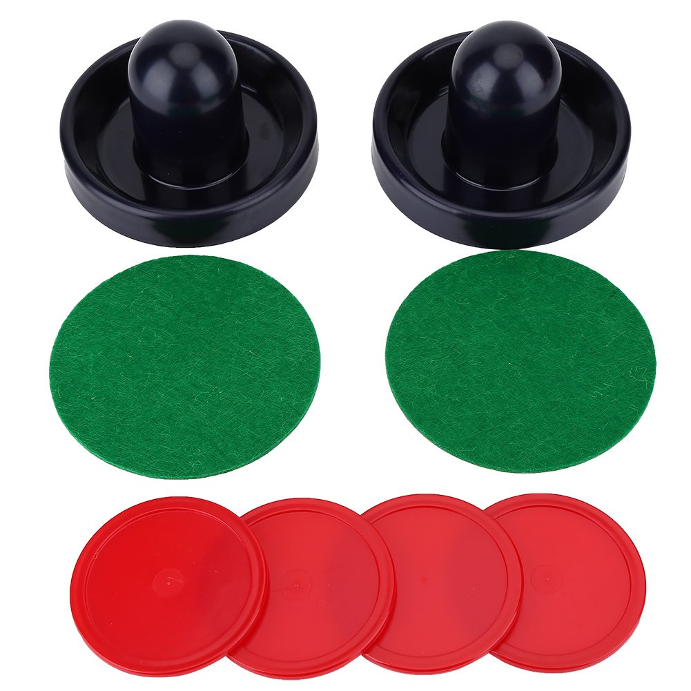 Air Hockey Pusher Pucks Set für Air Hockey Tisch Tischspiele VGEBY BDTXYZ0572