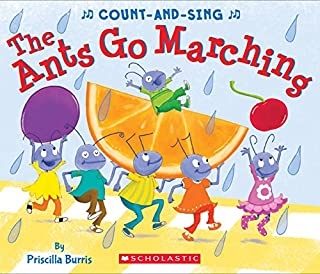 Book Cover: The Ants Go Marching: A Count-and-Sing Book