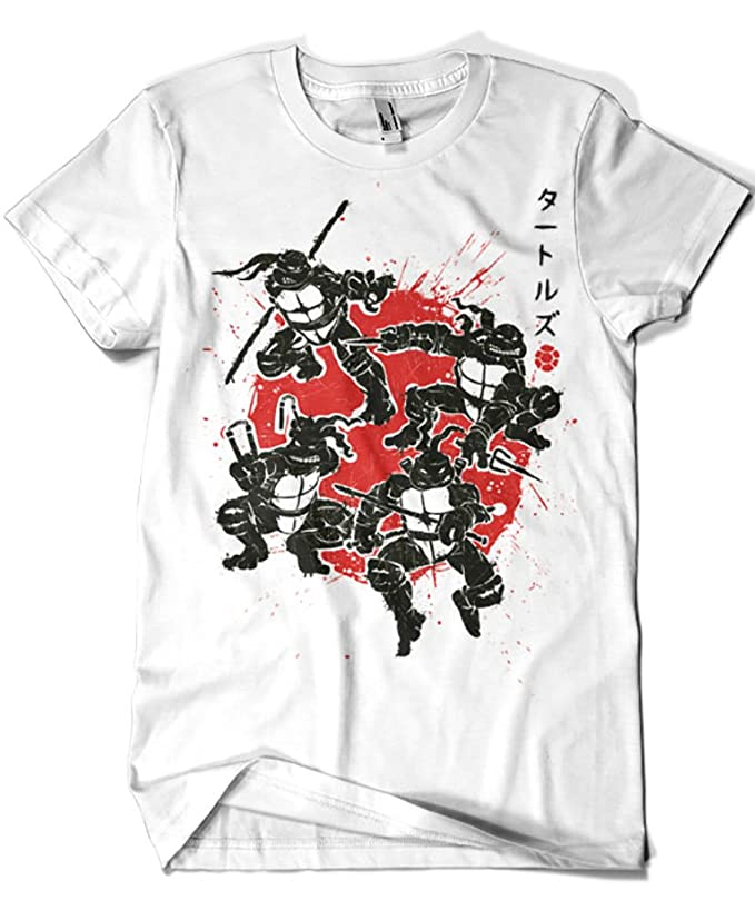 1019-Camiseta Tortugas Ninja - Mutant Warriors (Olipop ...