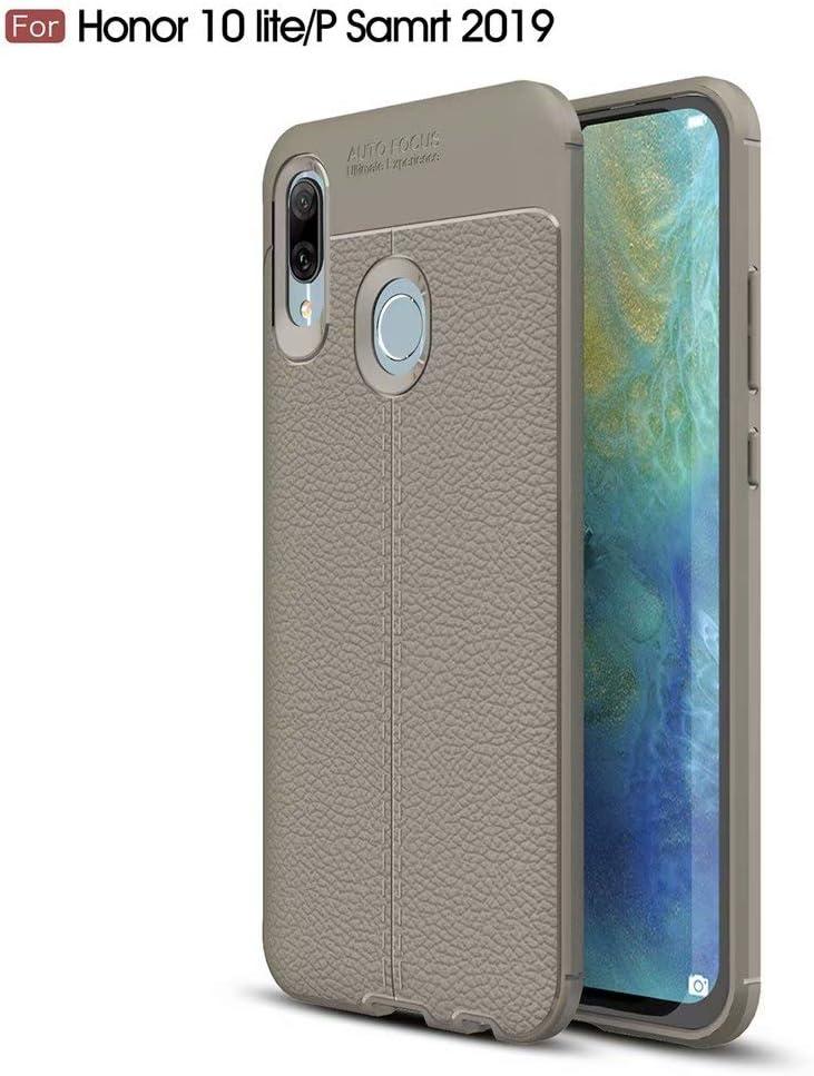WYRHS Compatible con Huawei P Smart 2019/Honor 10 Lite Funda TPU de Silicona Suave Ultra Delgado Carcasa de Telefono Rasguño a Prueba de Golpes Resistente Anti-caída Caso-Gris: Amazon.es: Electrónica