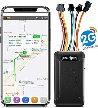 SinoTrack ST-906 - Localizador GPS para vehículos con Alarma antirrobo, botón SOS, Monitor de Voz para Autos, Motocicletas, Camiones, Soporte de Plataforma Libre de iOS y Android: Amazon.es: Electrónica