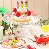 マザーガーデン ネットショップ限定 プレミアム おままごと パーティー ディナー セット 〔木製 おもちゃ 2段ケーキ & ロブスター & 食器〕 切れる 食べ物 二人遊び ごっこ