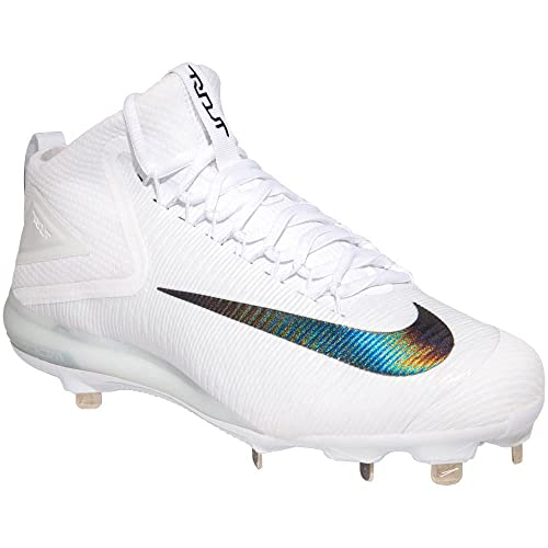 8e62f261c1489 Nike Zoom Trout 3 Men s Mid Cut Metal Cleats White Black  Amazon.ca  Shoes    Handbags
