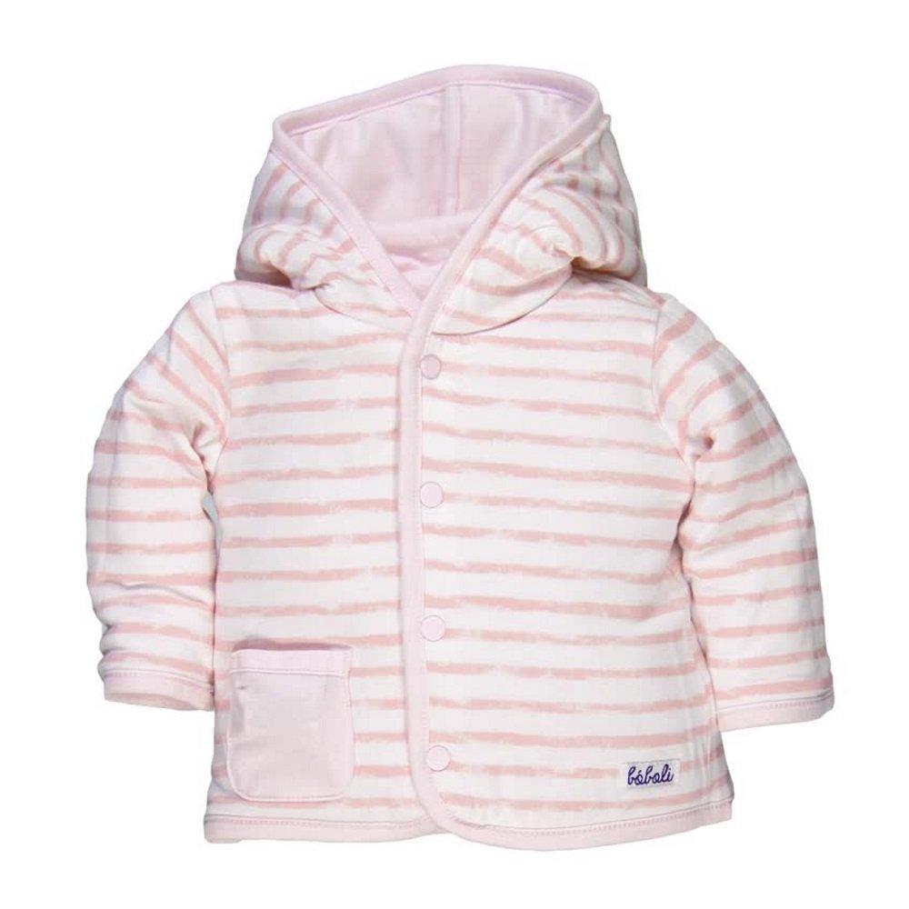37d4c03498 Boboli Baby Mädchen Wende-Jacke mit Kapuze rosa Gr. 56-92 74: Amazon.de:  Bekleidung