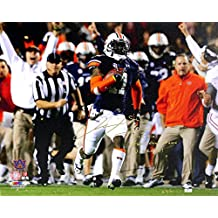 "Chris Davis Autographed/Signed Auburn Tigers 24x32 Wrapped Canvas with ""Kick Six - Game Over Bama - War Eagle!"" Inscription Limited Edition of 111"