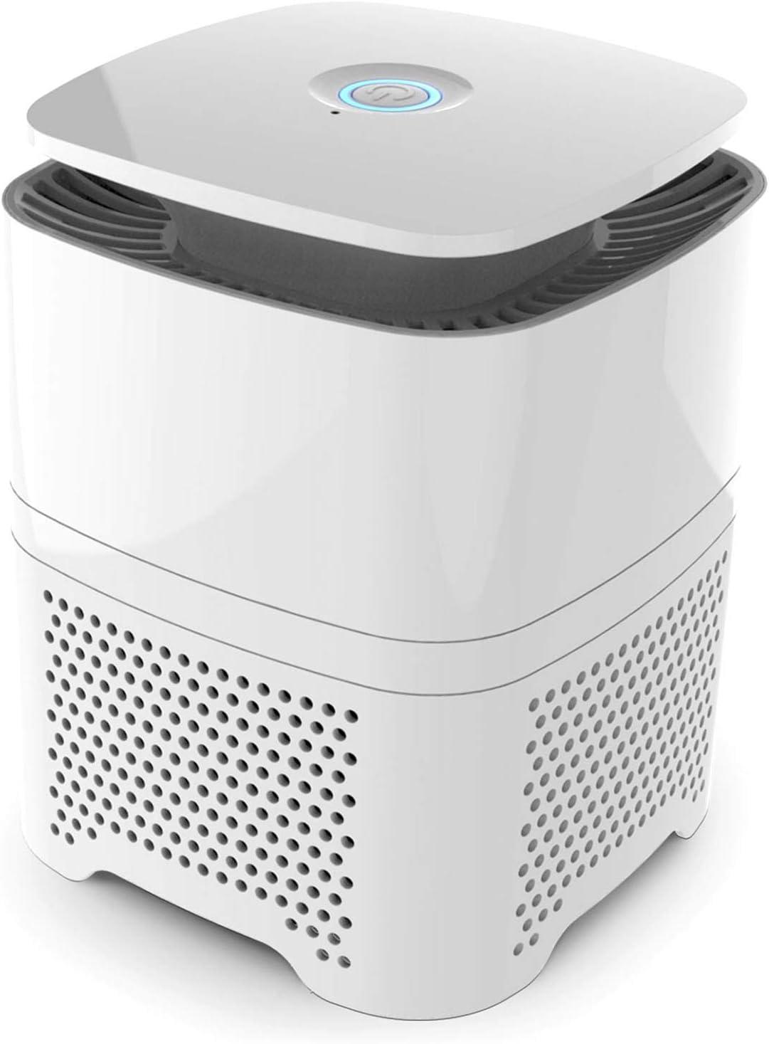 Pro Breeze Purificador de Aire 4 in 1 con Prefiltro, Filtro Auténtico HEPA & Filtro de Carbón Activado con Generador de Iones Negativos. Limpiador de Aire Personal de ...