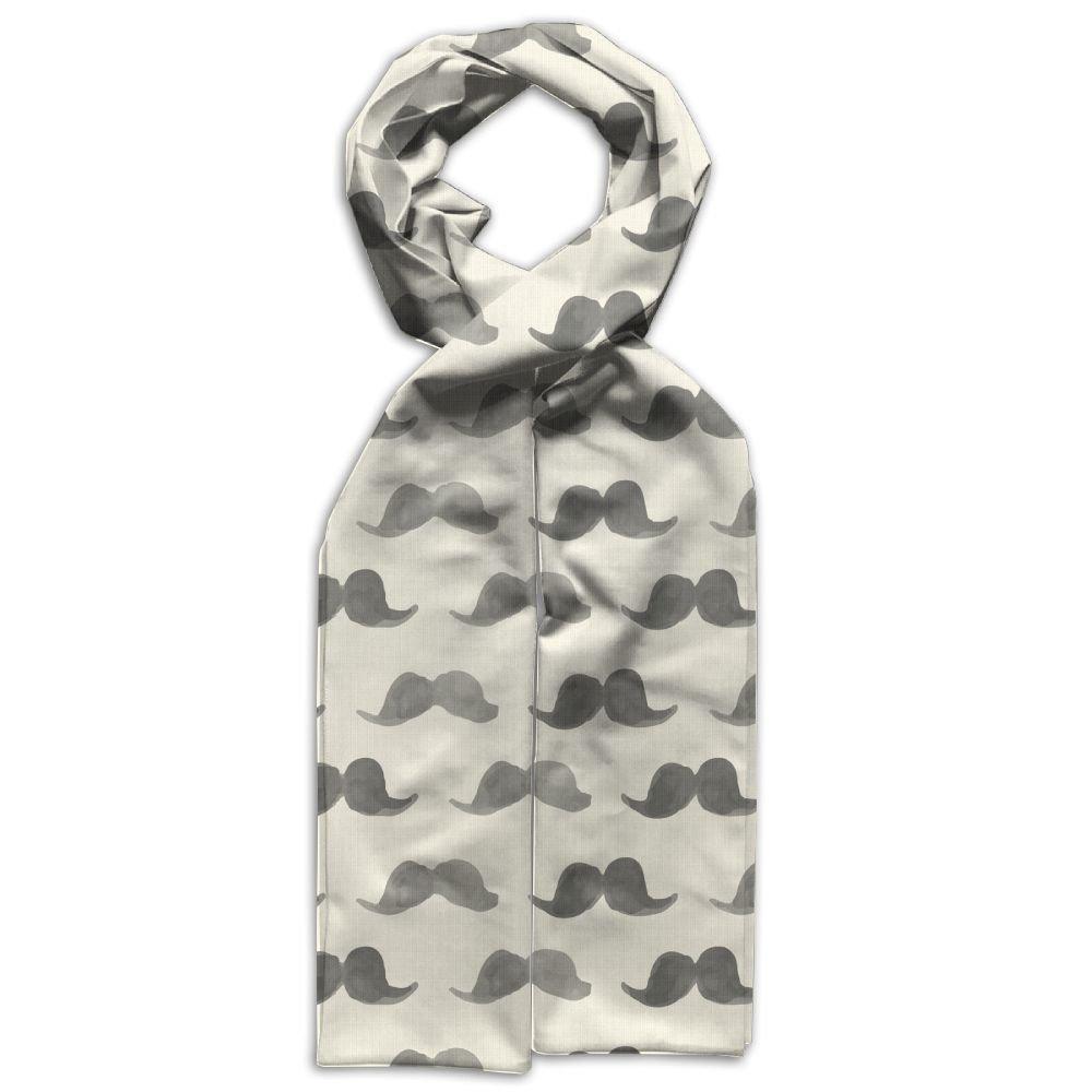 Happy Movember Printing Scarf Warm Soft Fashion Scarf Shawl Kids Boys Girls