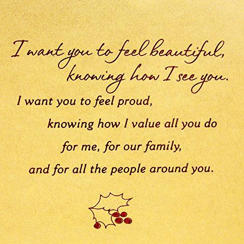 Hallmark Mahogany Christmas Greeting Card for Wife (I Want to Give You) Photo #7